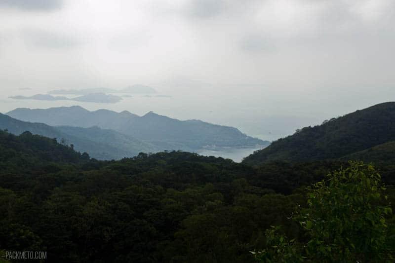 Tian Tan Buddha - View from the top