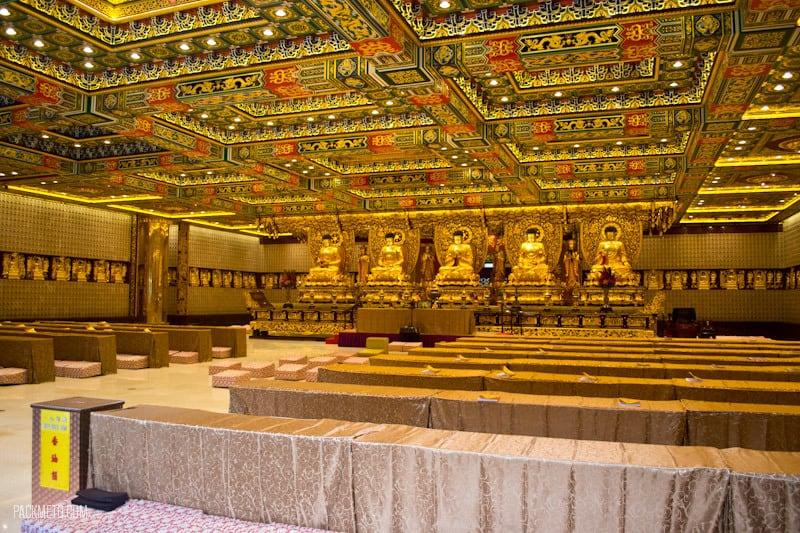 Po Lin Monastery - Grand Hall of Ten Thousand Buddhas - Things to do on Lantau Island | packmeto.com