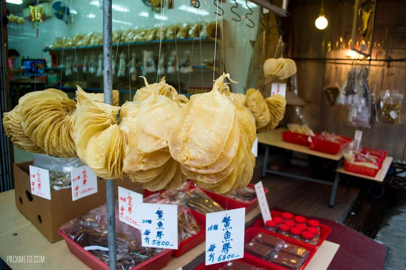 Tai O - Dried Seafood - Things to do on Lantau Island | packmeto.com