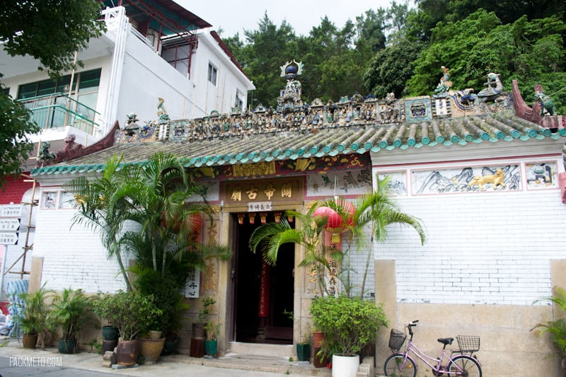 Tai O - Kwan Ti Temple - Things to do on Lantau Island | packmeto.com