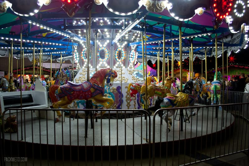 Vancouver Christmas Market - Carousel