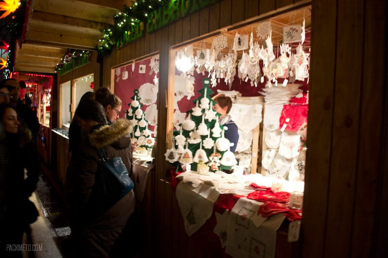 Vancouver Christmas Market - Lace Ornaments