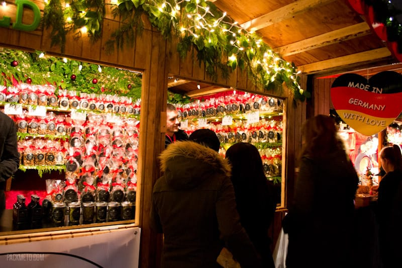 Vancouver Christmas Market - Market Stall