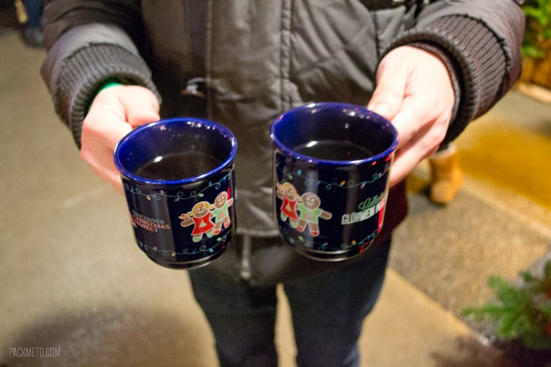 Vancouver Christmas Market - Mulled Wine