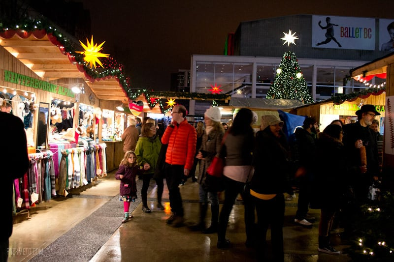 Vancouver Christmas Market - So many vendors