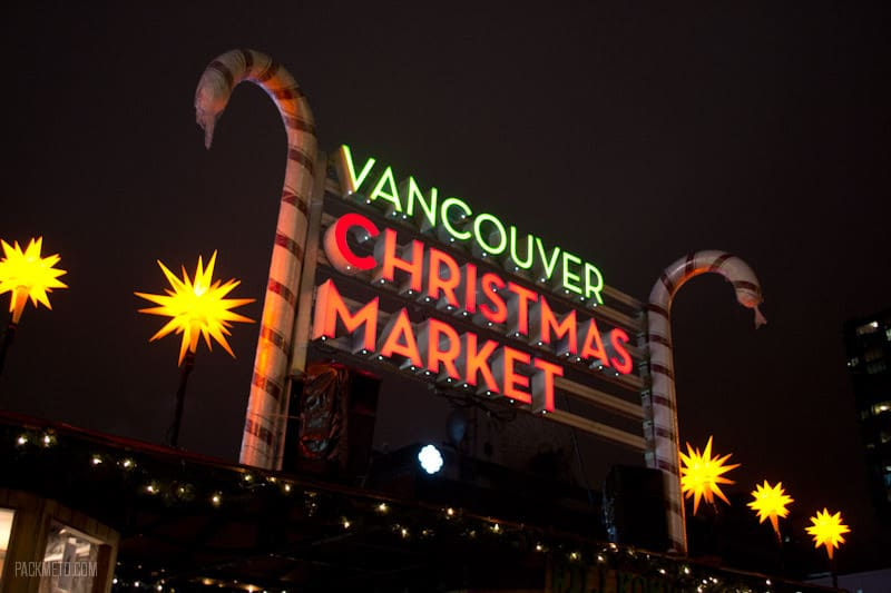 Getting in the Holiday Spirit at the Vancouver Christmas Market
