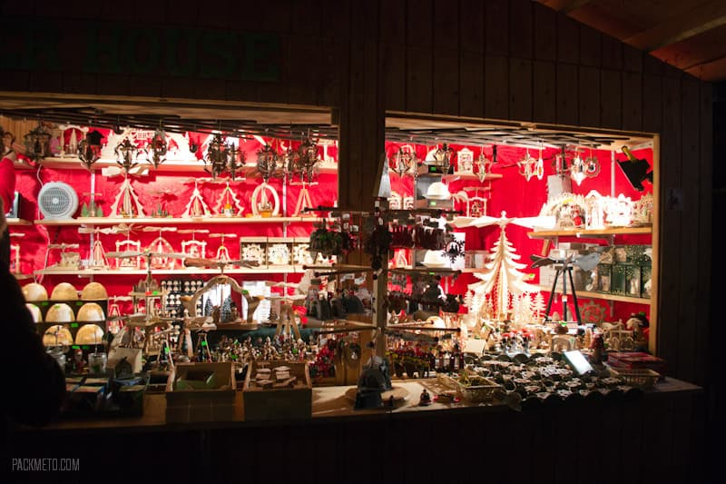 Vancouver Christmas Market - Wooden Ornaments