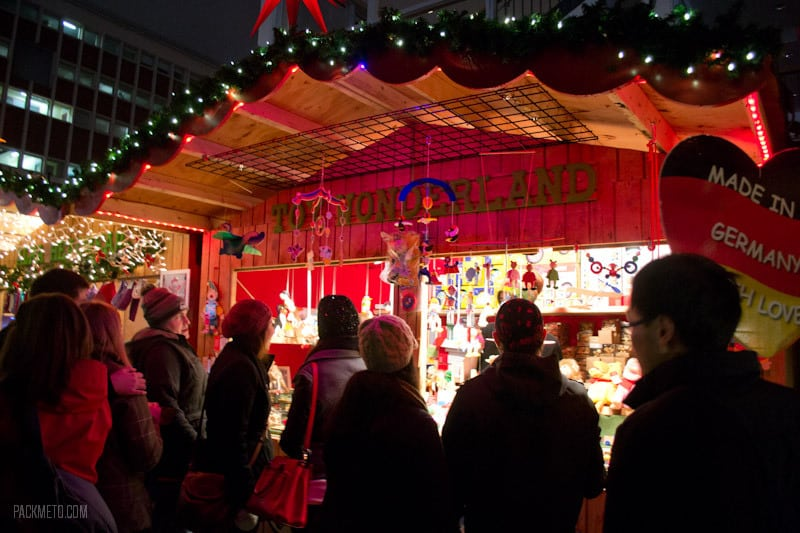 Vancouver Christmas Market - Wooden Toys