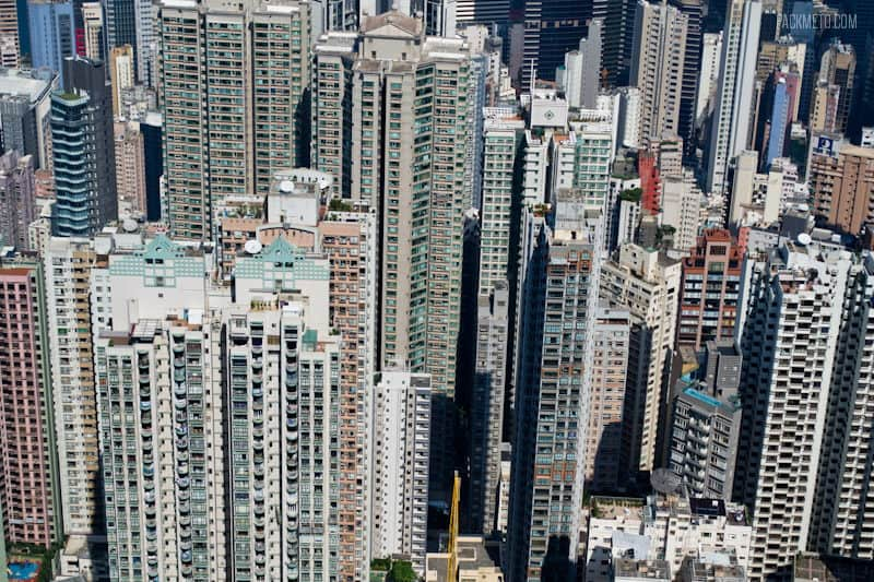 Concrete Jungle - Hong Kong Victoria Peak | packmeto.com