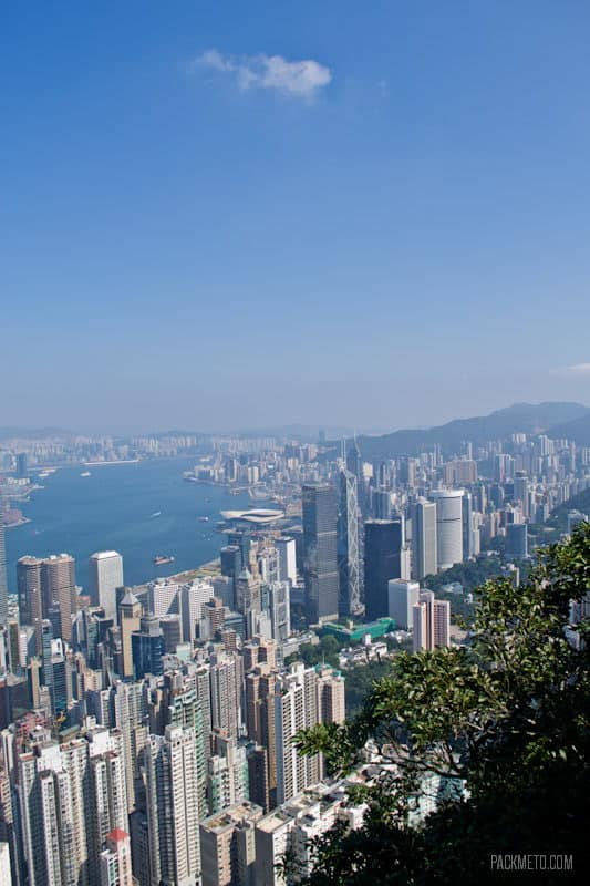 From the Other Side - Hong Kong Victoria Peak