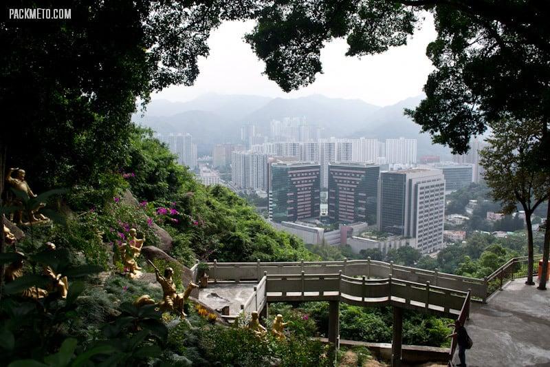 Great View - Ten Thousand Buddhas Monastery Hong Kong | packmeto.com