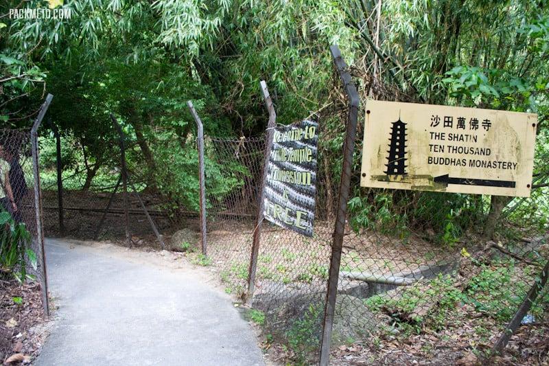 Hidden Entrance to the Ten Thousand Buddhas Monastery | packmeto.com