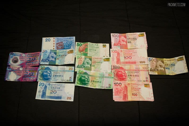 Hong Kong Dollar Variations