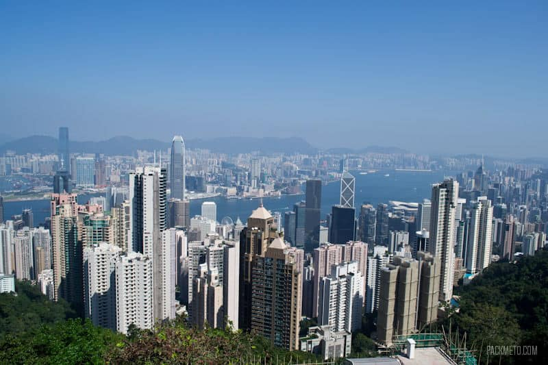 Lions Point View - Hong Kong Victoria Peak | packmeto.com