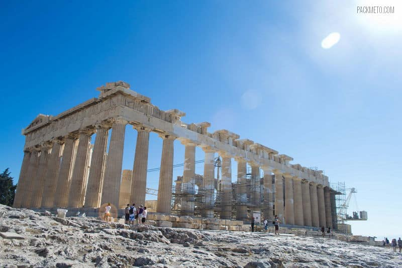 Parthenon at the Acropolis