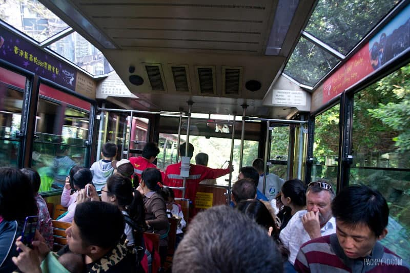 Steep Tram - Hong Kong Victoria Peak | packmeto.com