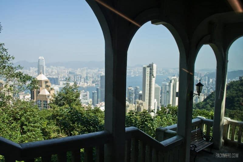 Tram Stop - Hong Kong Victoria Peak | packmeto.com