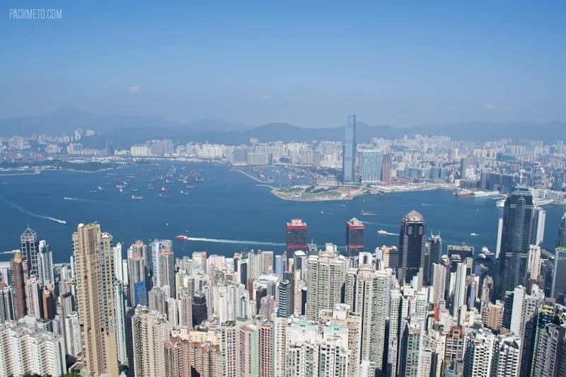 Victoria Harbour - Hong Kong Victoria Peak | packmeto.com