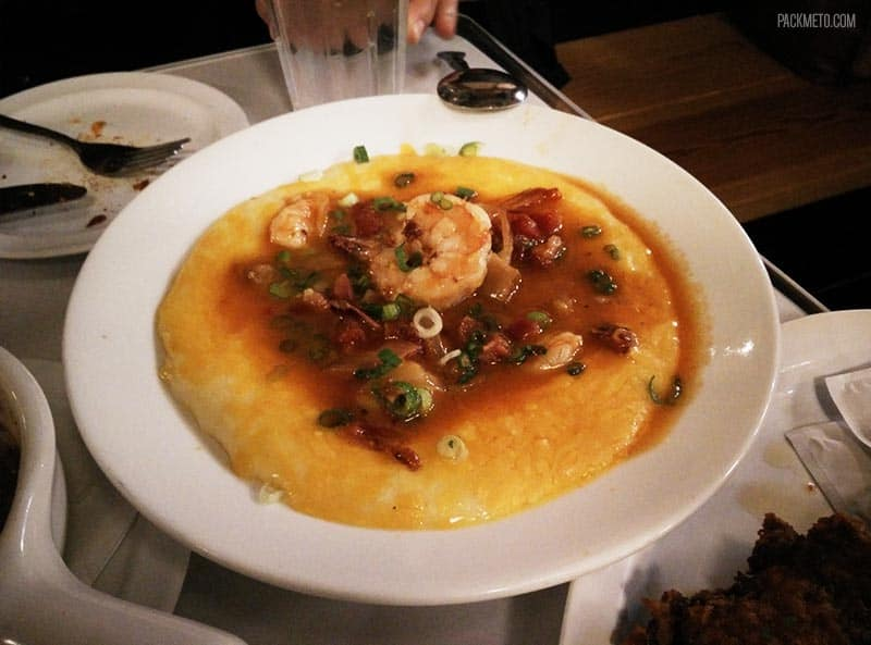 Brendas Soul Food Shrimp and Grits San Francisco