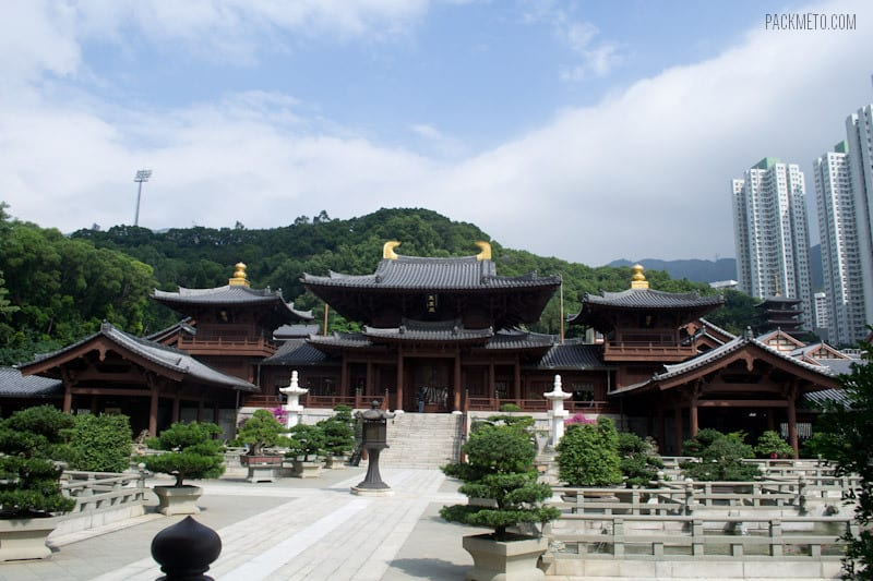 Chi Lin Nunnery Hong Kong - 7 Free Things to Do in Hong Kong | packmeto.com