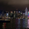 Hong Kong Skyline Close Up