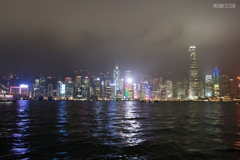 Hong Kong at Night | packmeto.com