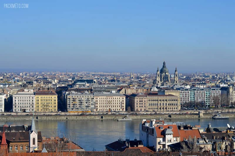 Overlooking Budapest - Still Love the City