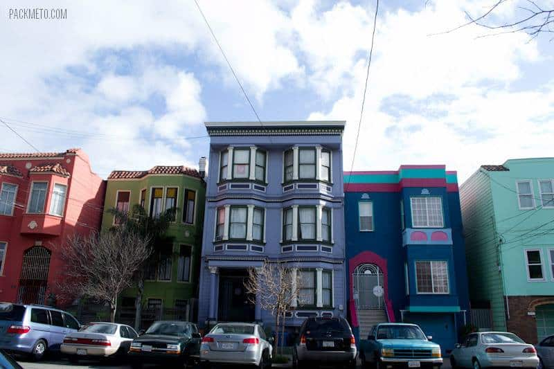 San Francisco Colourful Houses