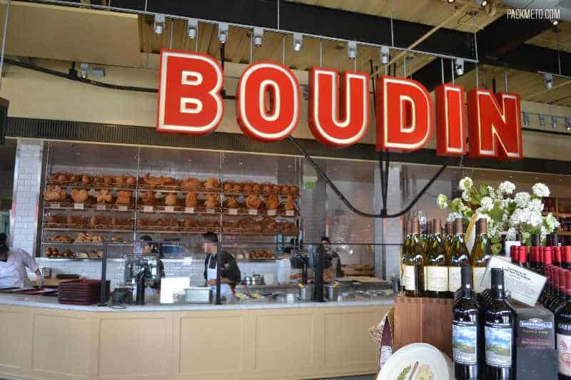 Inside Boudin Cafe San Francisco - Exploring San Francisco's Fisherman's Wharf & Pier 39 | packmeto.com