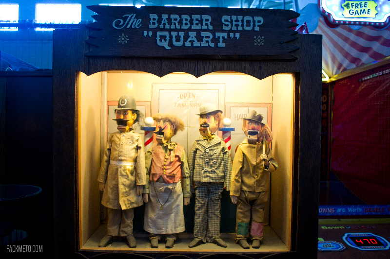 Musee Mecanique Barber Shop Quart
