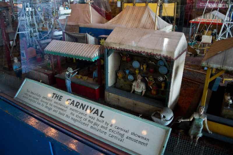 Musee Mecanique Carnival Diorama