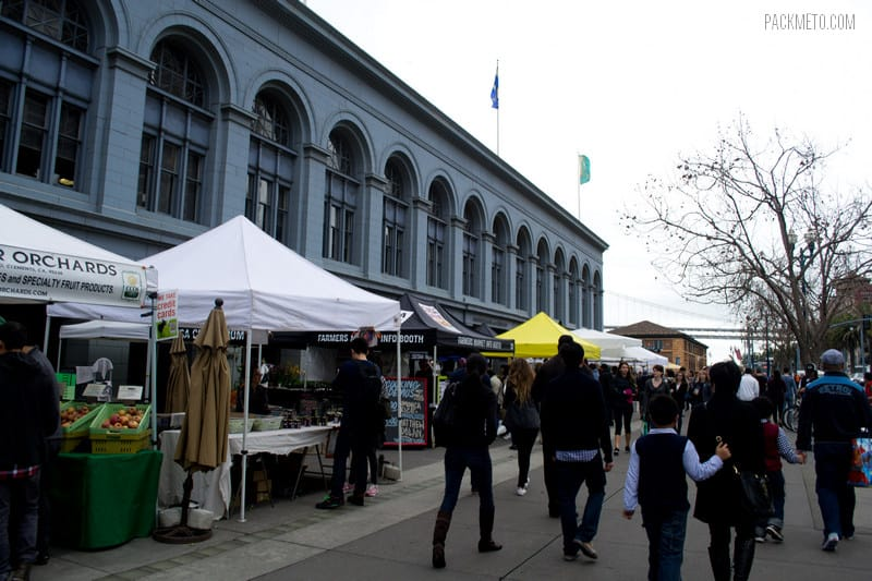 San Francisco Ferry Building Farmers Market
