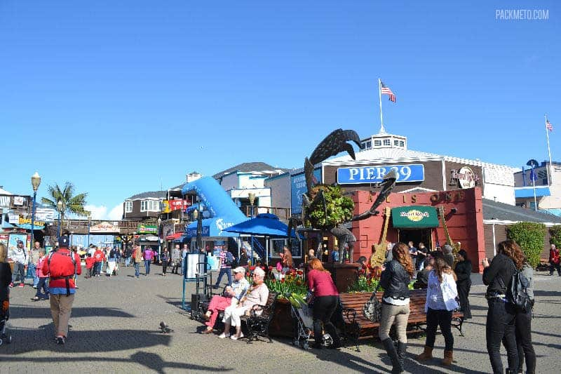 San Francisco Pier 39 Entrance - Exploring San Francisco's Fisherman's Wharf & Pier 39 | packmeto.com