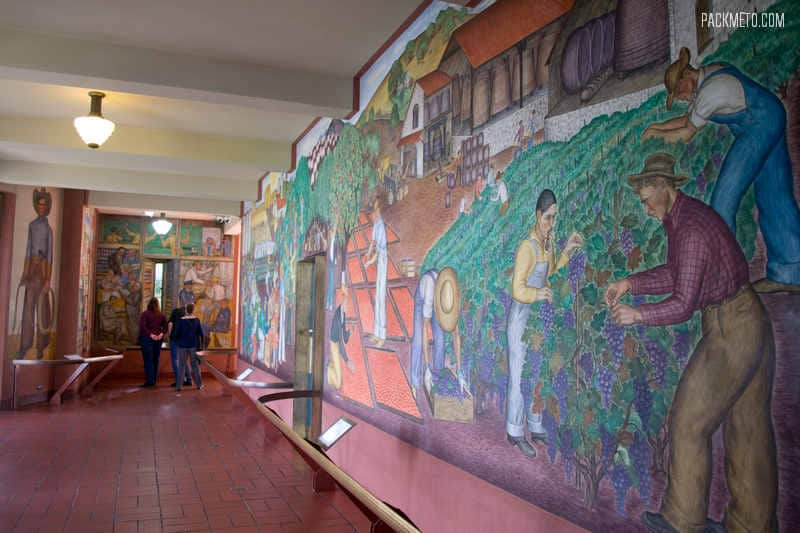 San Francisco Coit Tower Murals