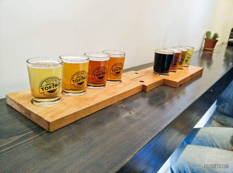 Tofino Brewing Company Flights