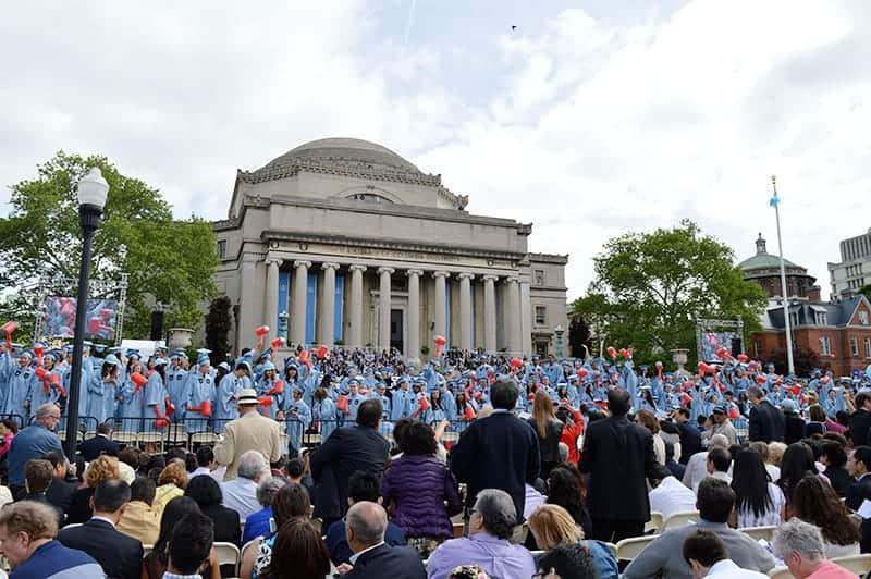 Columbia University Graduation 2015