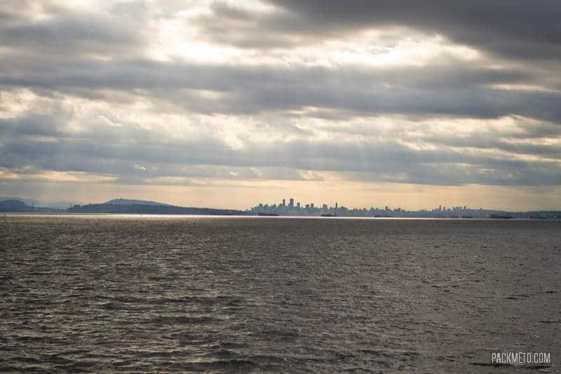 Downtown Vancouver from Ferry