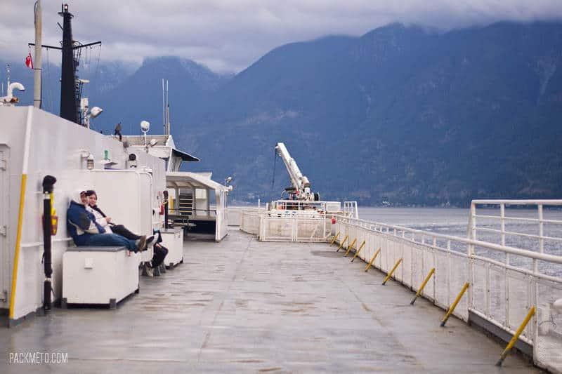 Ferry Vancouver to Nanaimo