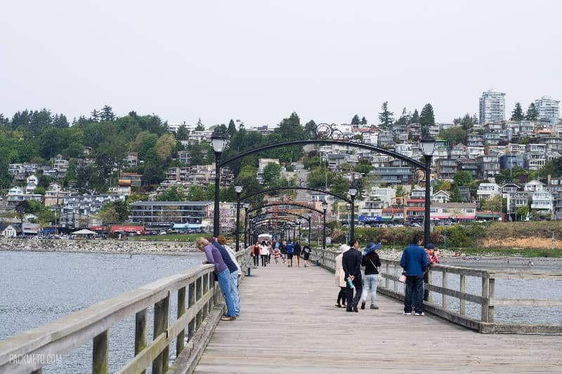 White Rock Pier Length