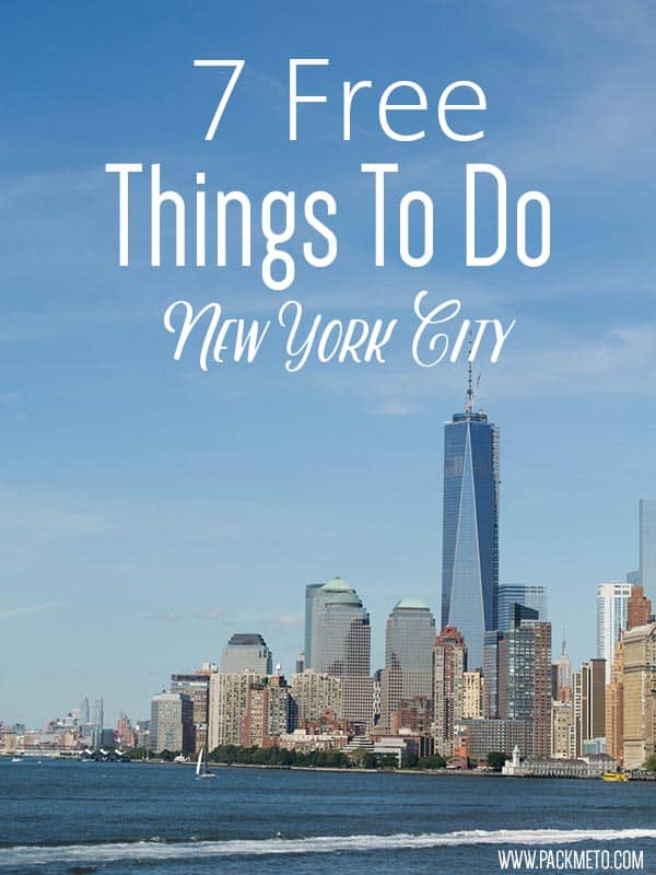 7 Free Things to Do in NYC