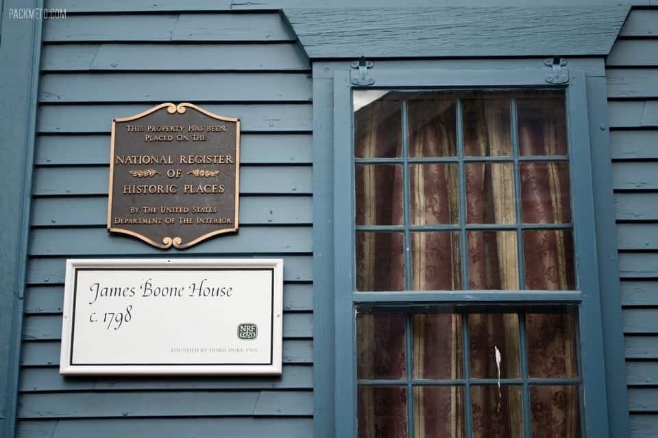 Newport Rhode Island James Boone House | packmeto.com