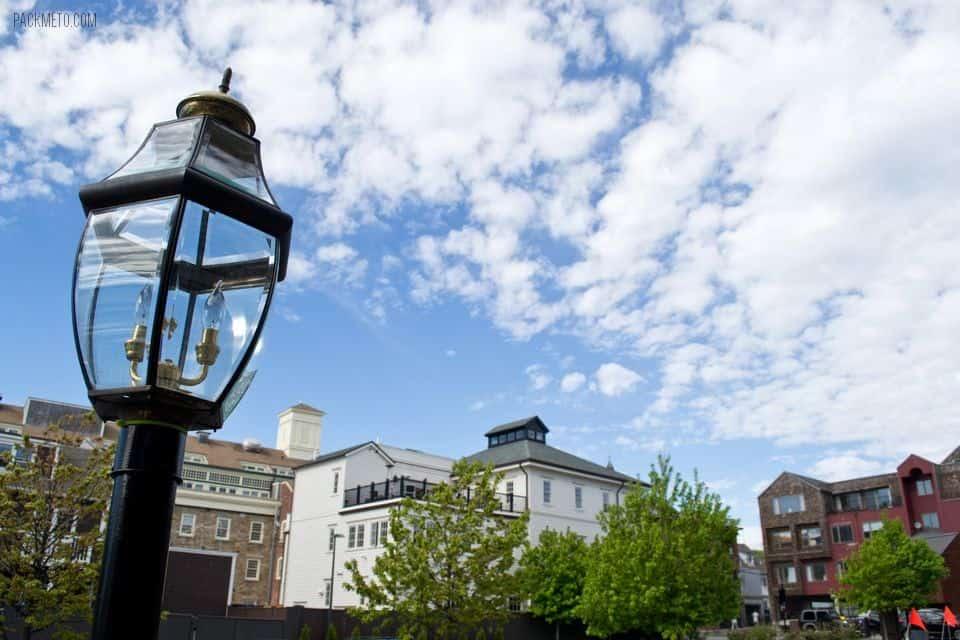 Newport Rhode Island Lamp | packmeto.com