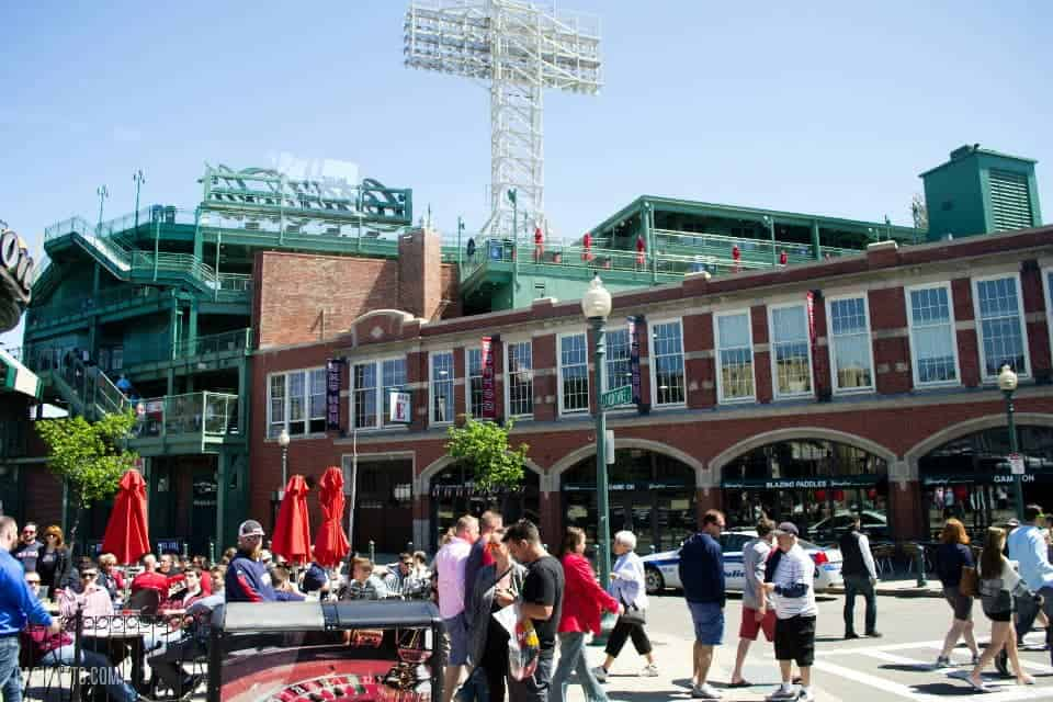 Fenway Park Boston On Location Tours