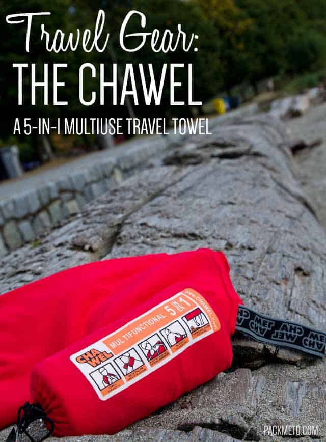 Chawel Multiuse Travel Towel