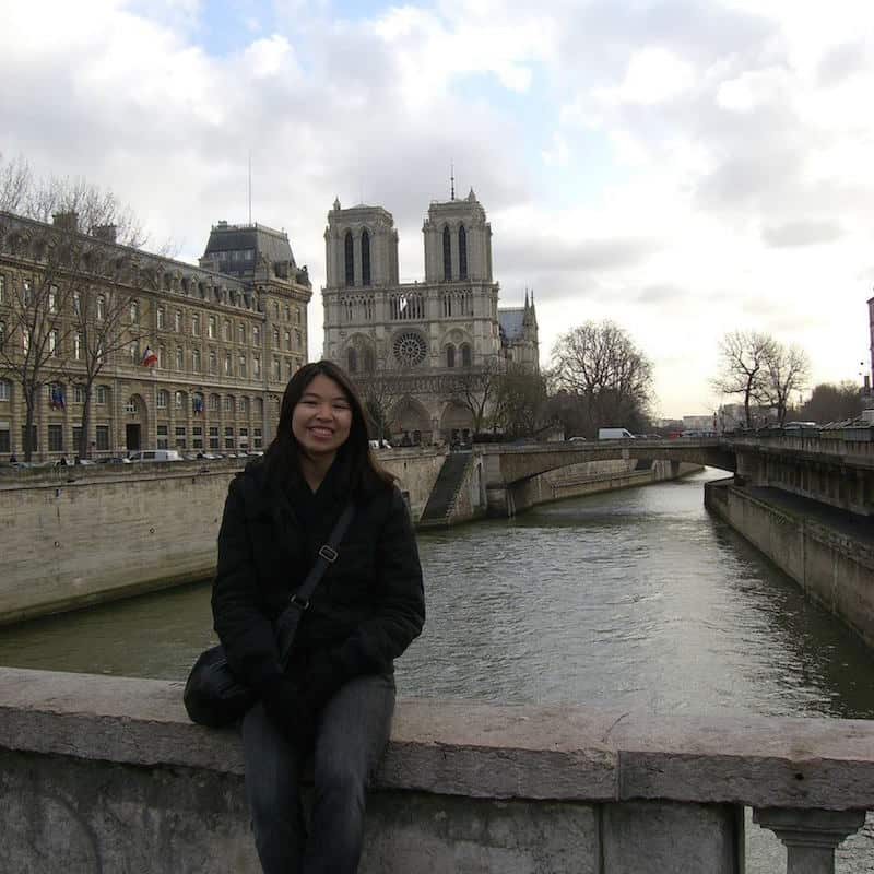 Adelina in Paris Notre Dame