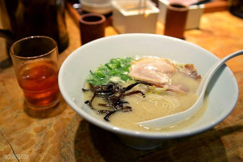 Ippudo Ramen Kyoto | @packmeto