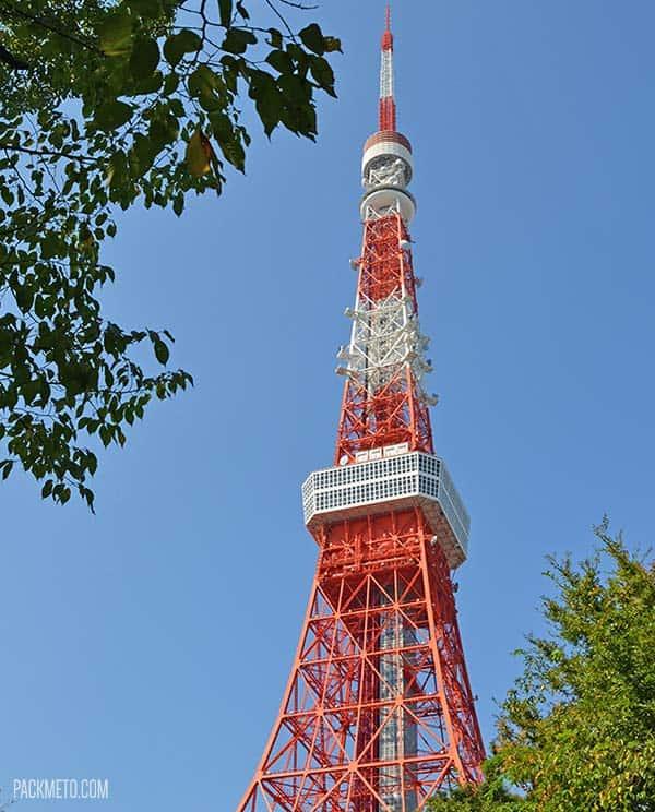 Tokyo Tower | @packmeto
