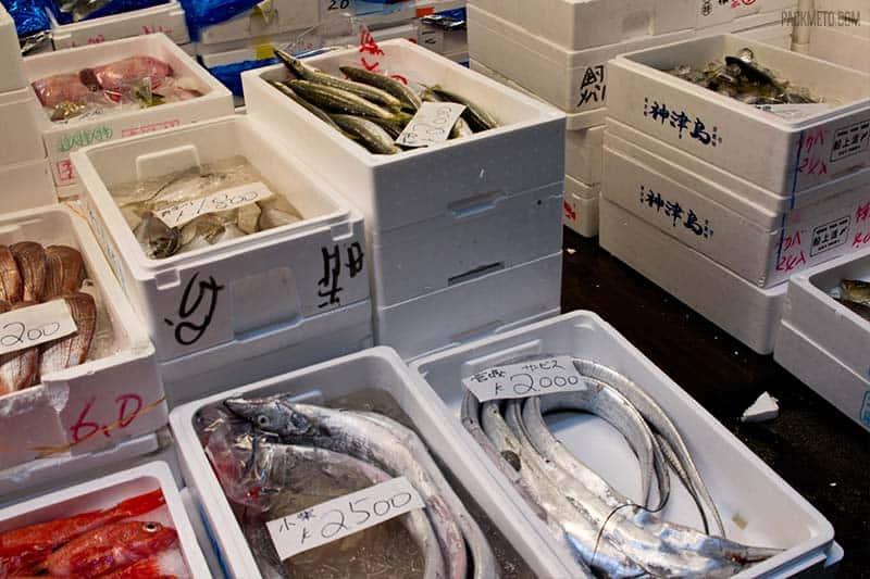 Tsukiji Fish Market Fish Boxes | packmeto.com