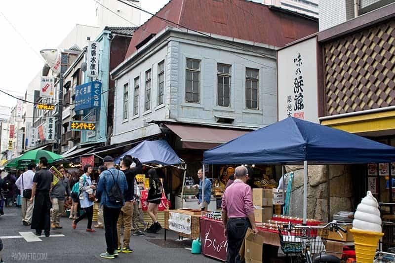 Tsukiji Fish Market Outer Market