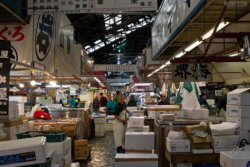 Visiting Tokyo's Tsukiji Fish Market – A Look Into One of the World's Largest Wholesale Markets